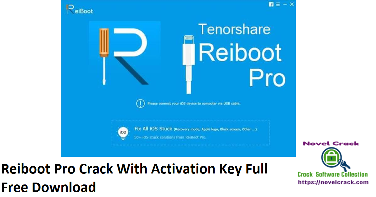 Reiboot Pro Crack With Activation Key Full Free Download