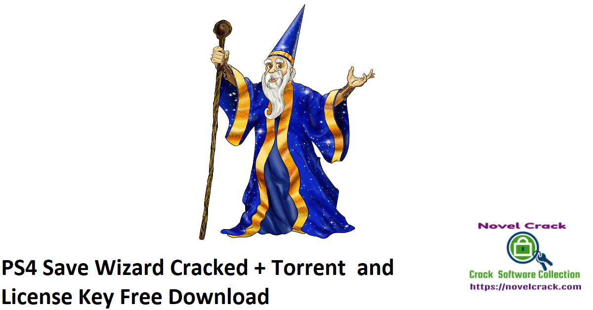 PS4 Save Wizard 2020 Cracked + Torrent and License Key Free Download [Latest]